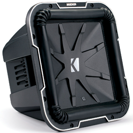 L7 square subwoofer by KICKER