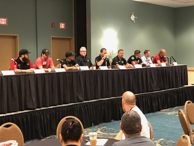 Ten panelists at WRAPSCONNECT answered questions and shared anecdotes about their industry.