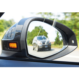 Blind spot detection shows to save lives in a study by IIHS