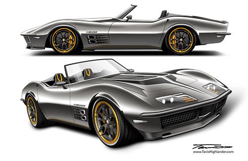 1972 Menace Corvette