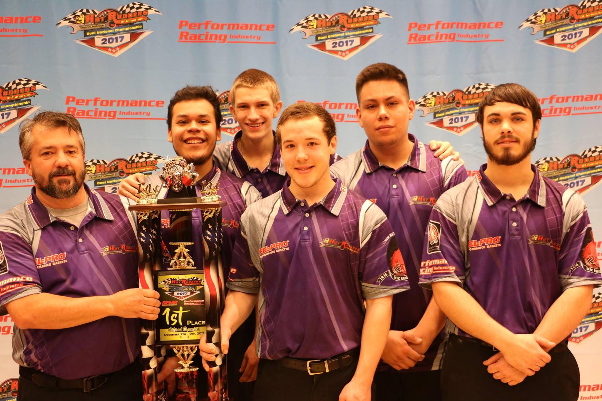 Team Fel-Pro from Tulsa Technology Center in Broken Arrow, Oklahoma