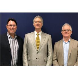 From left to right: Ken Wiseman, Alpine's new western regional manager; Joel Kaplan, who is retiring as Alpine's western regiona