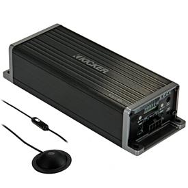 KICKER's KEY180.4 smart amplifier and processor