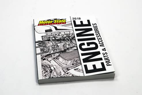 Motor State Distributing's 2018 Engine Parts & Accessories catalog