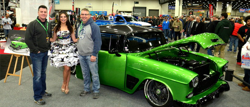 The D Lot at the March 2-4 Detroit Autorama car show