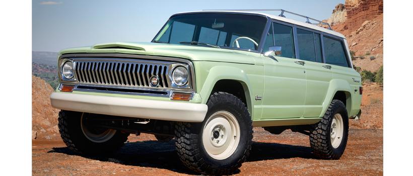 Jeep Wagoneer Roadtripj concept
