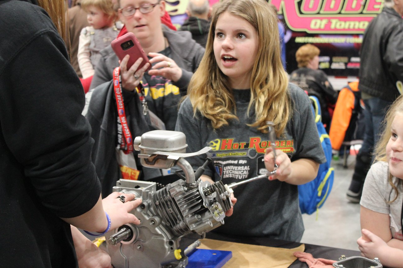 The HROT engine challenge was an eye-opener for 94 fifth-graders.