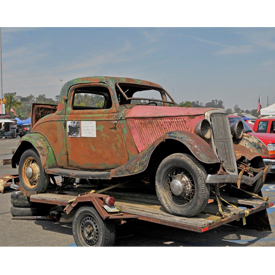 The LA Roadster Show and Swap Meet