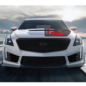 Front-end rendering of the 2018 CTS-V by Pfaff Designs. See a full rendering below.