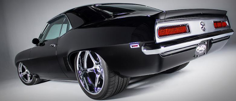 1969 Chevrolet Camaro named TUX, customized by Detroit Speed