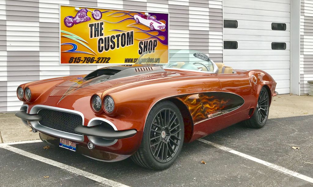 1962 Corvette full custom resto-mod, 598 cubic inch Vortech Supercharged, SR3 chassis, built by The Custom Shop