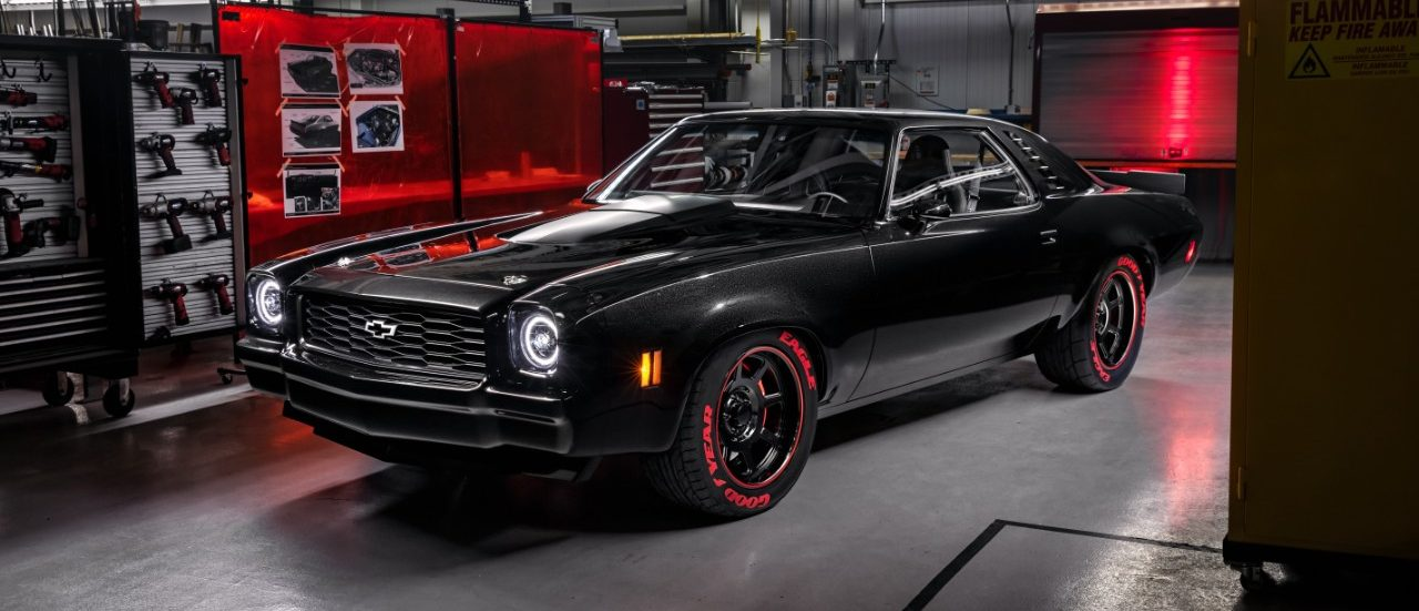 1973 Chevelle Laguna with the all-new LT5 6.2-liter supercharged crate engine
