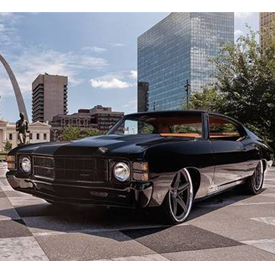 """Noah Alexander and the team from Velocity's hit show """"Speed is the New Black"""" are set to bring a 1971 Chevrolet Chevelle to the"""