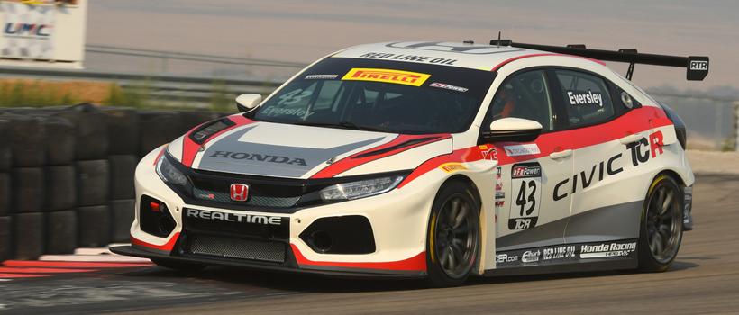 Honda will display its championship-winning Civic Type R TCR, fresh off its victorious Pirelli World Challenge season