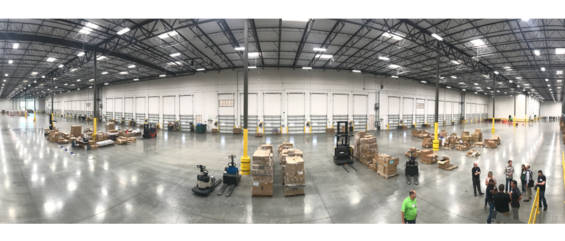 Keystone opened a new distribution center in Eastvale, California in July. The 450,000-square-foot facility could fit more than