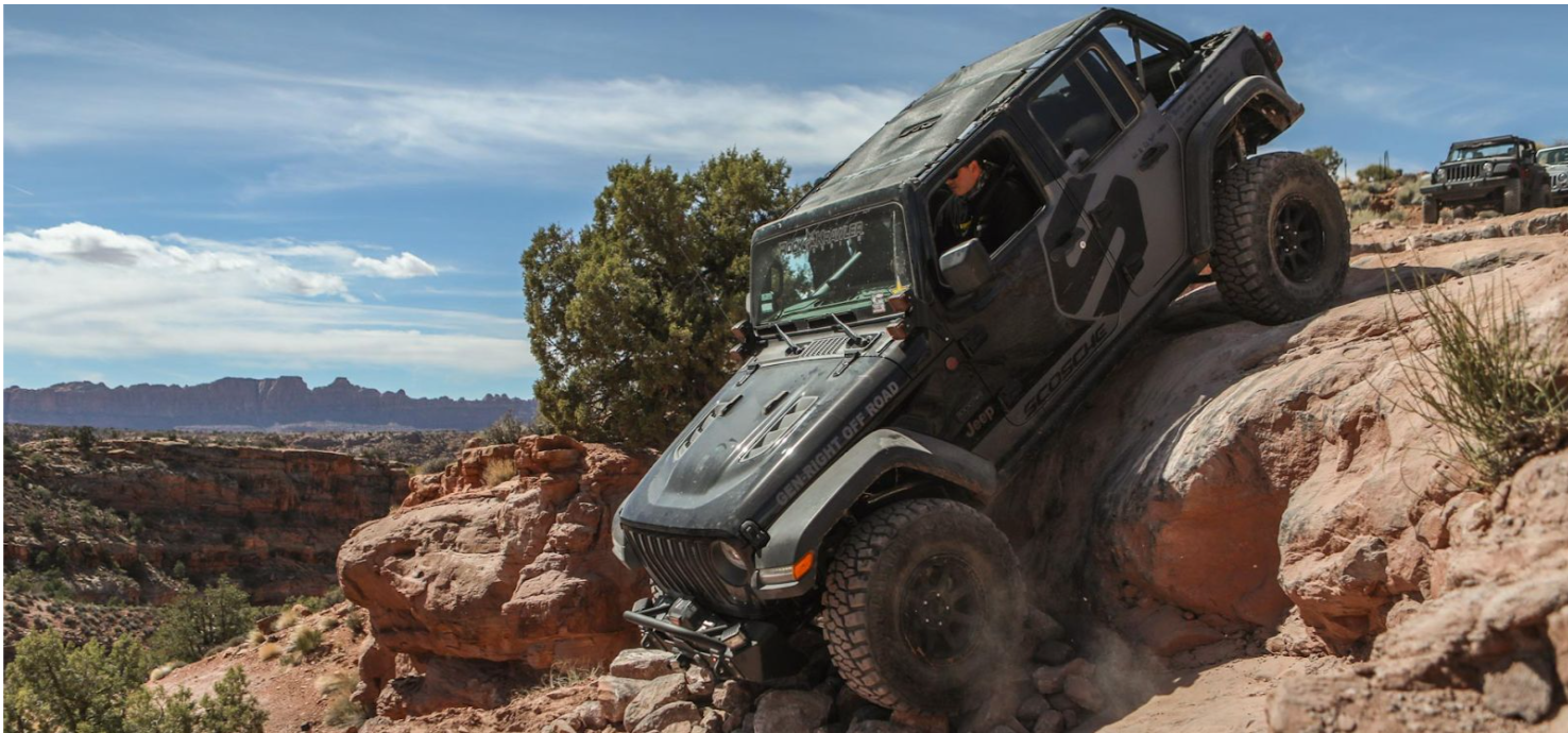 This 2018 Jeep JL Rubicon, built by Rockstar Garage of Southern California, headlines the Scosche booth at SEMA this year