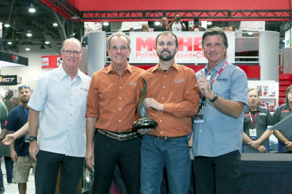 The annual Mothers Shine Award went to Nickelback, a 1967 Chevrolet Camaro SS owned by Greg and Chris Allen of Selbyville, Delaw