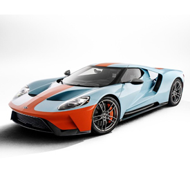 2019 Ford GT Heritage Edition VIN No. 001