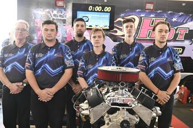Team Custom Automotive Network (CAN) from Eastern Oklahoma Technology Center in Choctaw, Oklahoma, came in first place at the Du