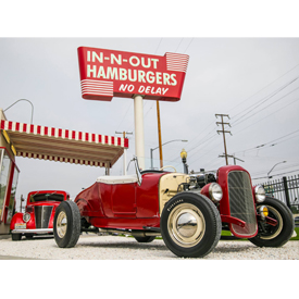 In-N-Out Burger and Hot Rod Magazine will celebrate their 70th anniversaries together this weekend