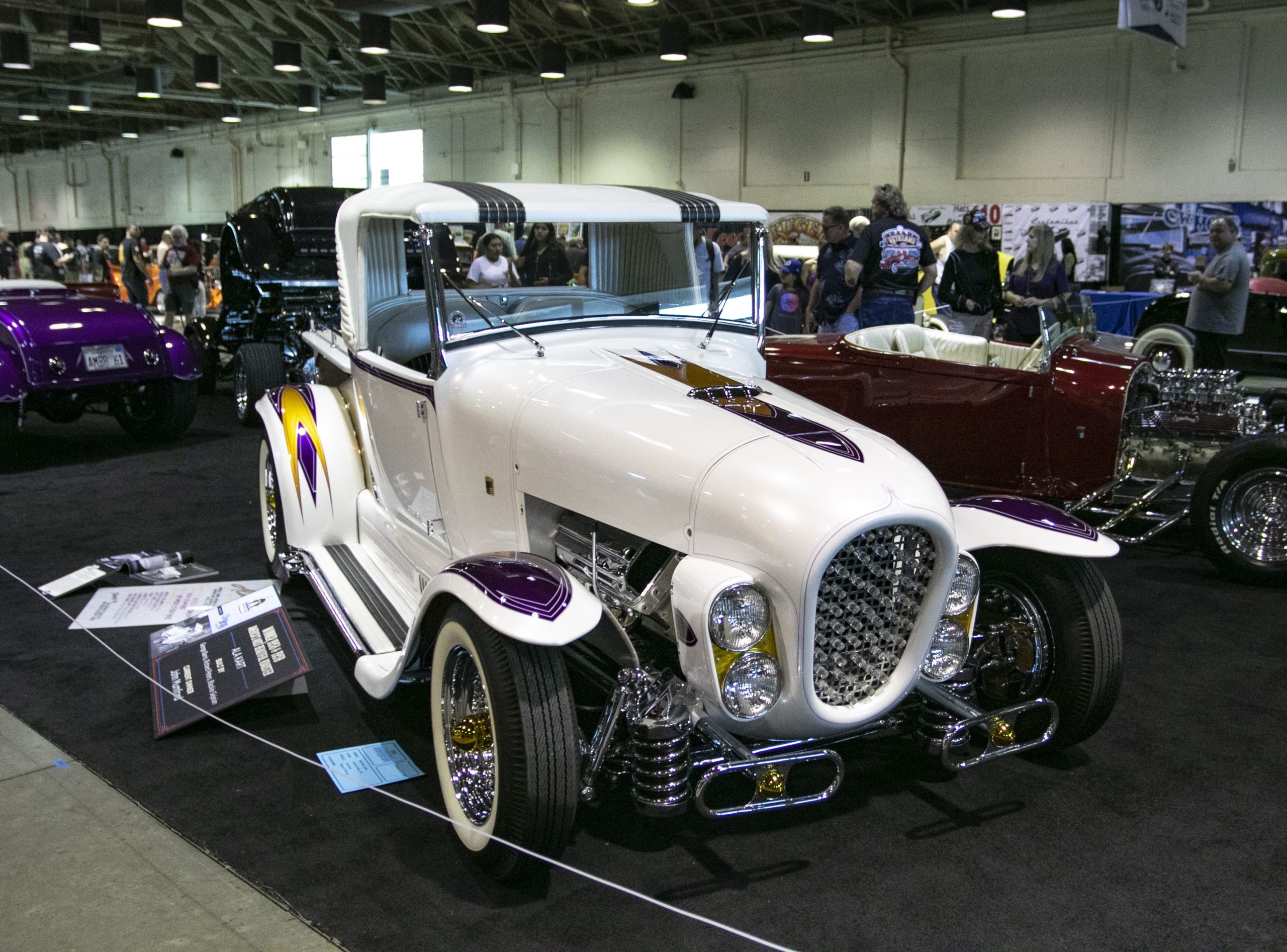 This 1929 Ford Model A, nicknamed Ala Kart, won the Bruce Meyer Hot Rod Preservation Award this weekend at the 70th anniversary