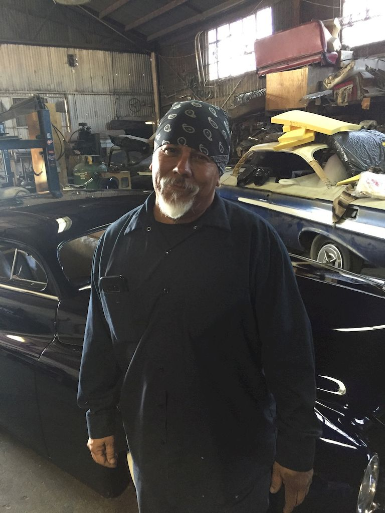 Jesse Castillo, owner of Lordz of Kustomz