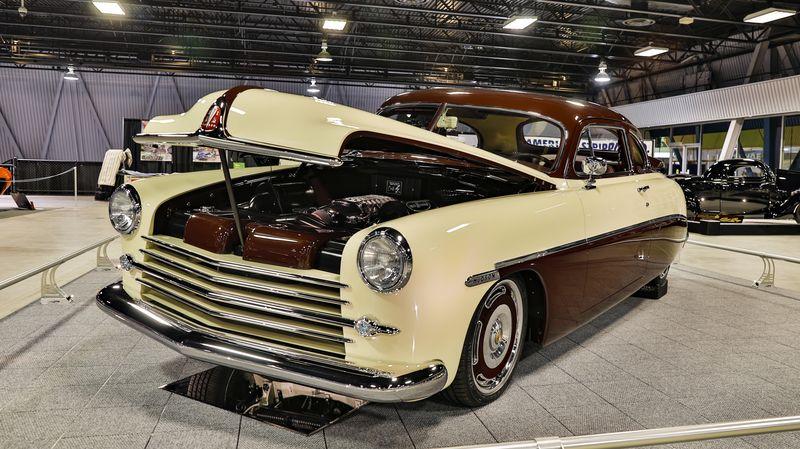 1949 Hudson Club Coupe won the Custom d'Elegance award and the Sam Barris Memorial award at Sacramento Autorama