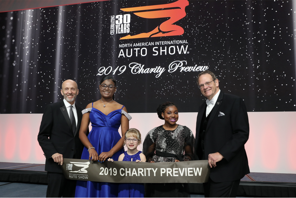 The North American International Auto Show (NAIAS) capped off its 30th anniversary celebration by raising $4,028,800 for childre