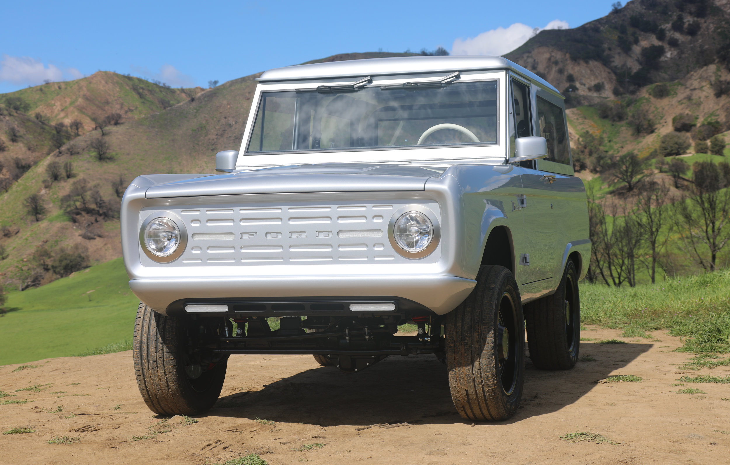 Electric Ford Bronco