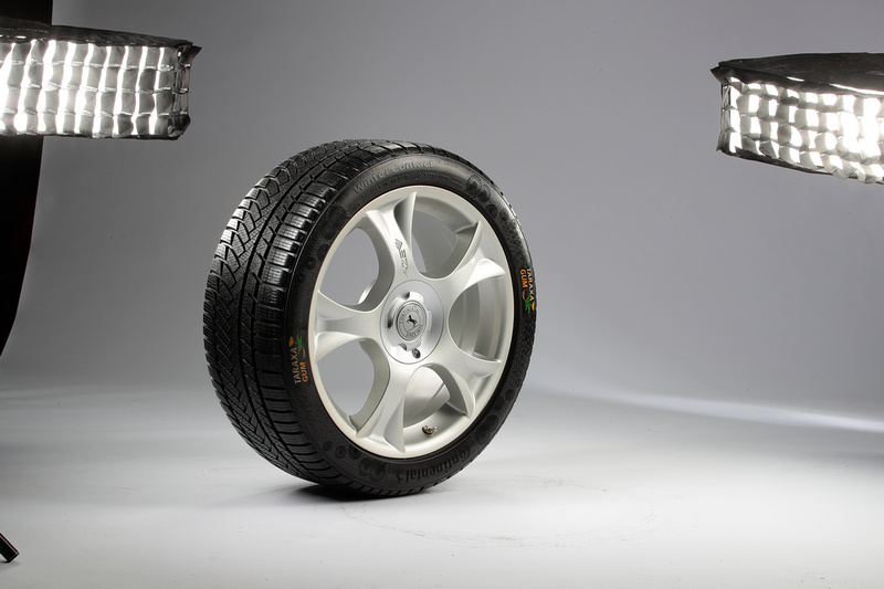Continental Tire and a team of partners helped produce this tire, which is made with natural rubber latex from the Russian Dande