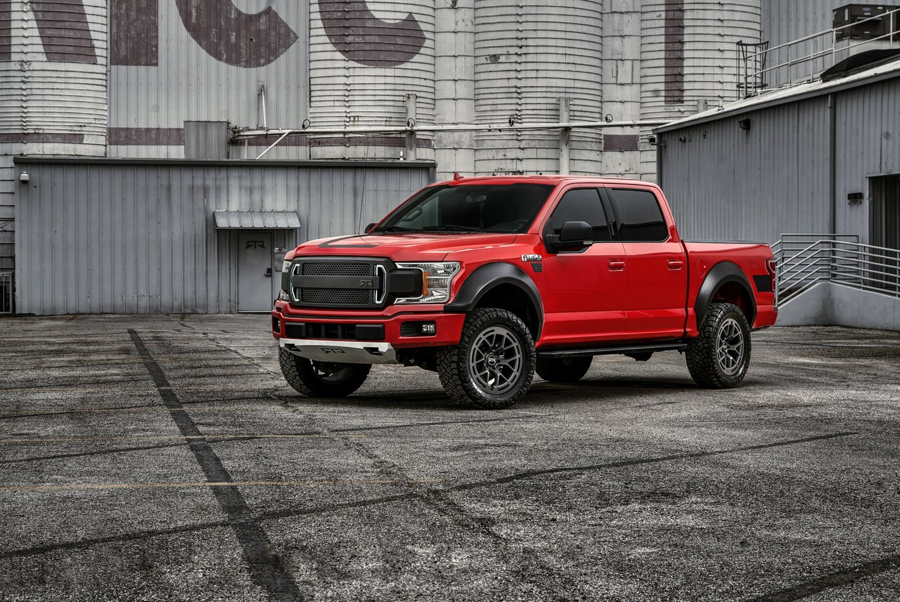 2019 Ford F-150 featuring the Signature RTR Styling package