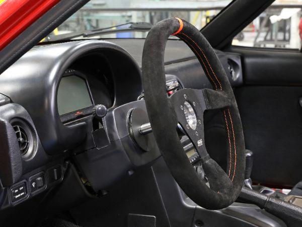 The IDIDITPro-Fab Miata columnshaves 16-pounds off already-light 1990-2005 Mazda Miatamodels.