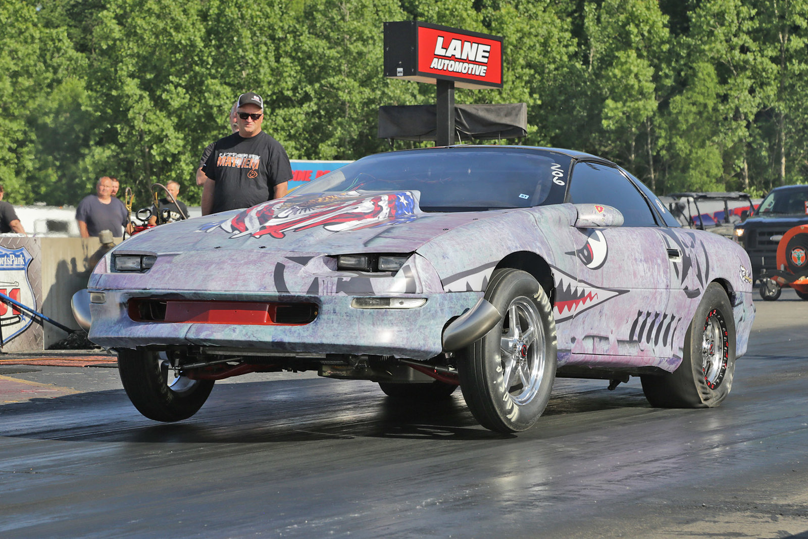 Motor State KnockOut No-Prep Drag Event held at US 131 Motorsports Park in Martin, Michigan
