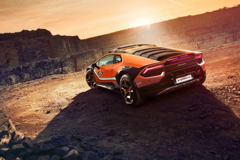 Lamborghini Huracán Sterrato off-road offroad super car supercar rendering