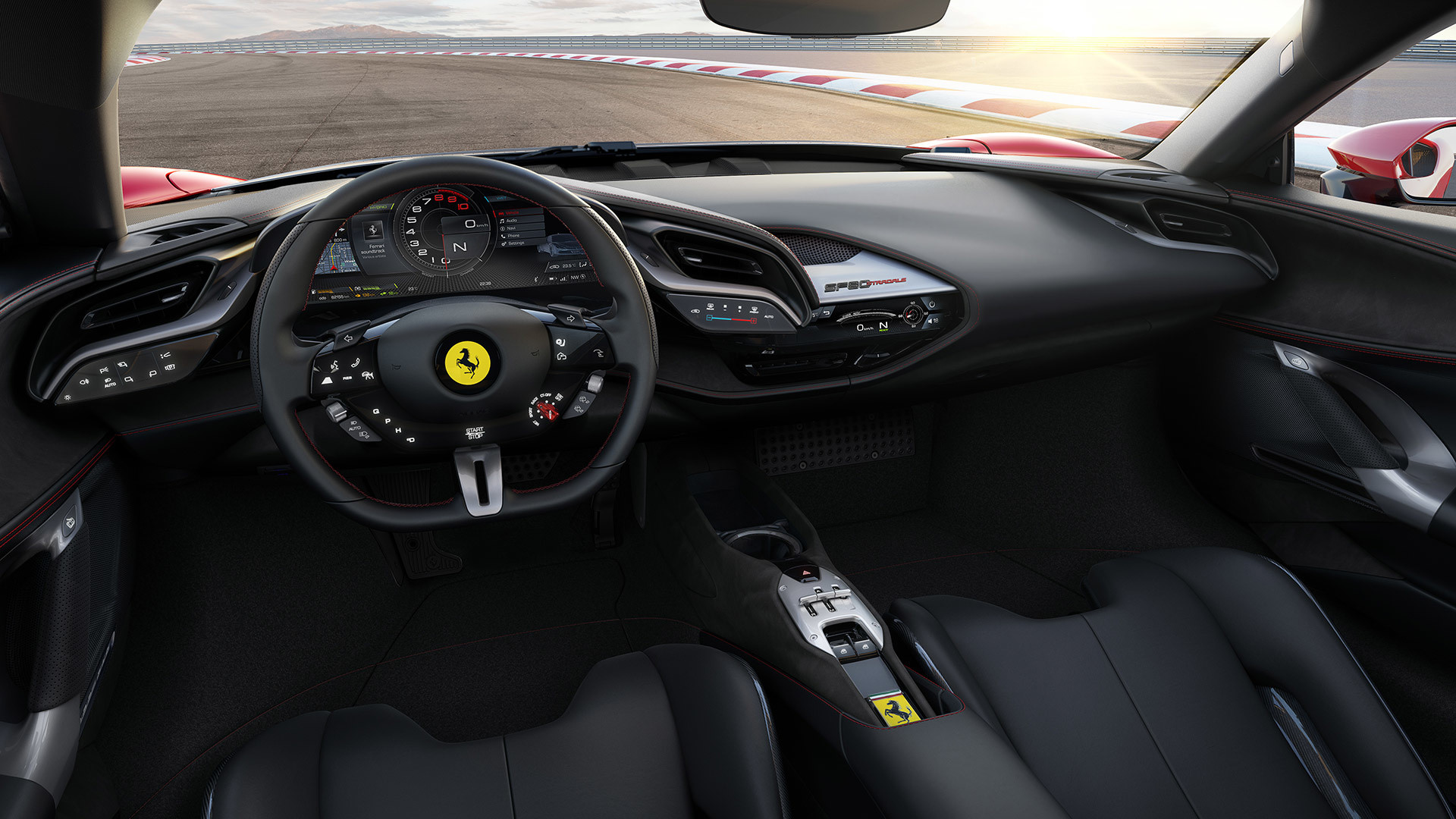 Ferrari has debuted the SF90 Stradale, the company's first plug-in hybrid super car and its first four-wheel drive vehicle