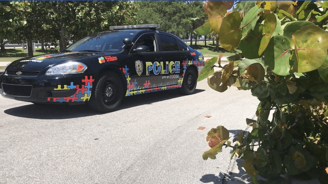 This is the wrap for the Cocoa Police Department.