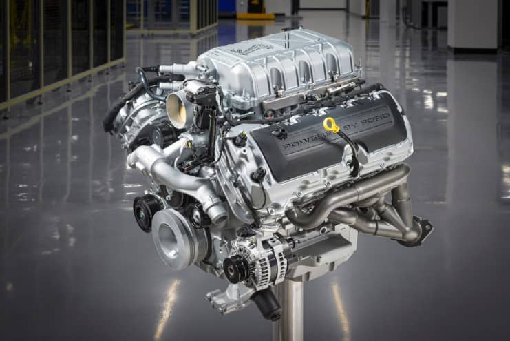 The engine contained within the 2020 Mustang Shelby GT500 by Ford