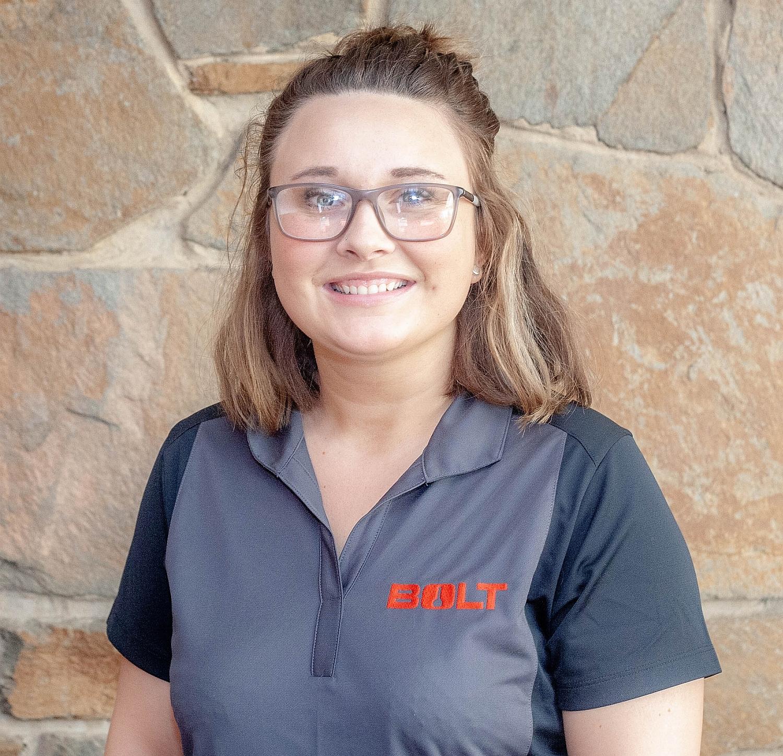 Crystal Wiken Bolt Lock digital marketing coordinator