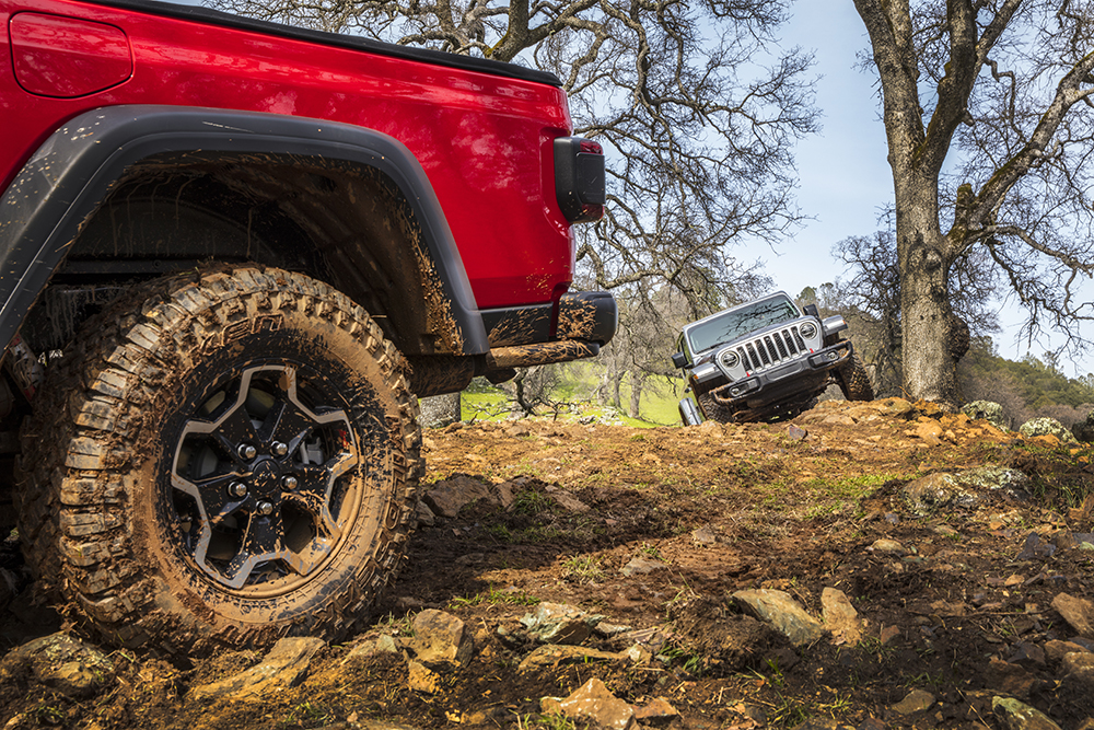 Falken Tires will be included as original equipment on the 2020 Jeep Gladiator.