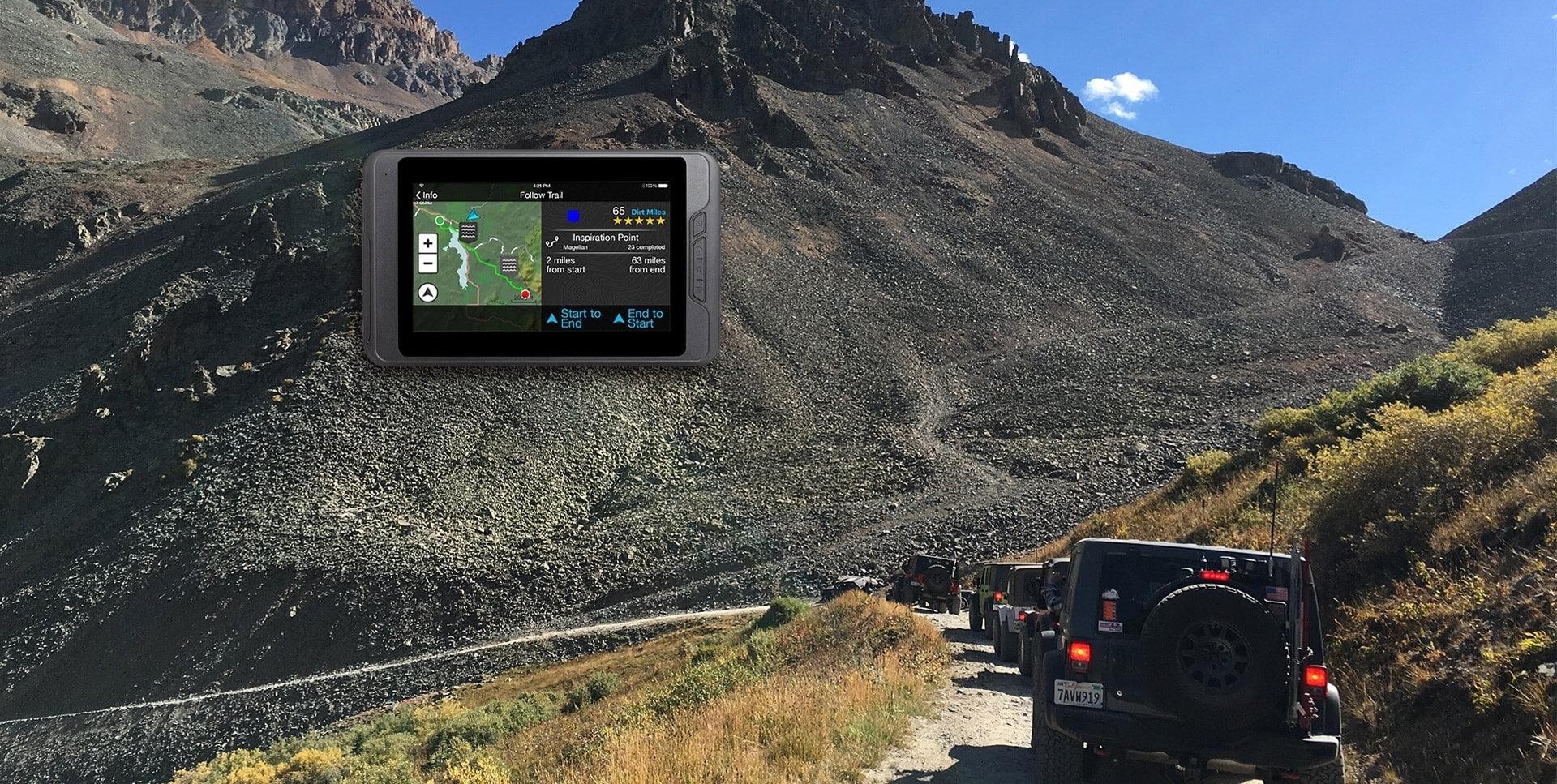 Magellan GPS unit