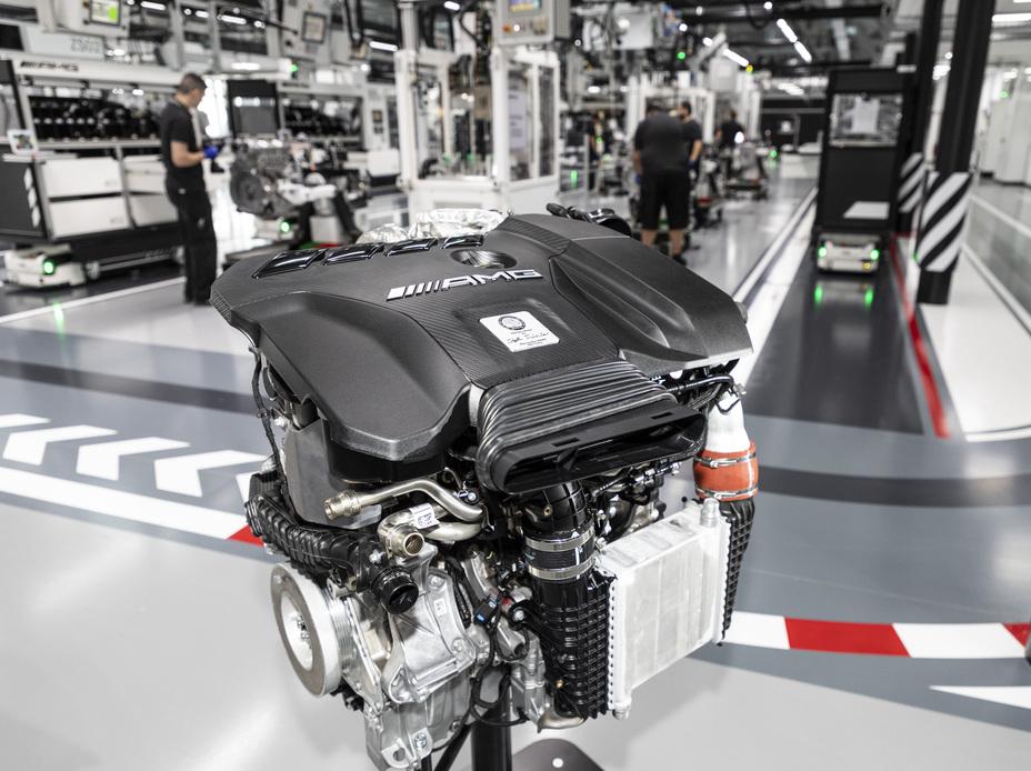 Mercedes-AMG 2.0-liter M 139 engine