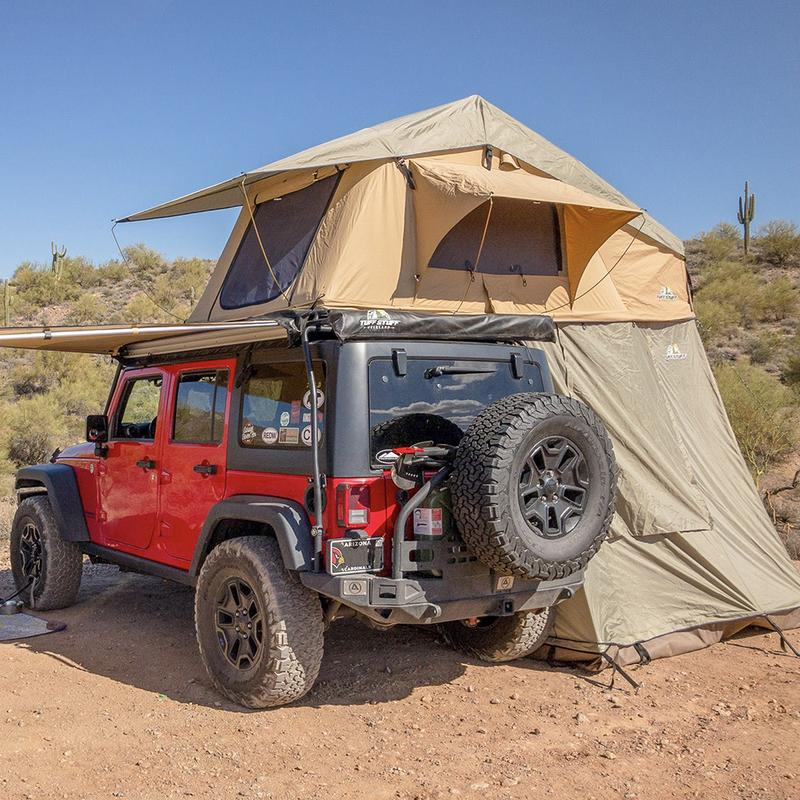 The Tuff Stuff rooftop tent Meyer Distributing automotive aftermarket overlanding accessories