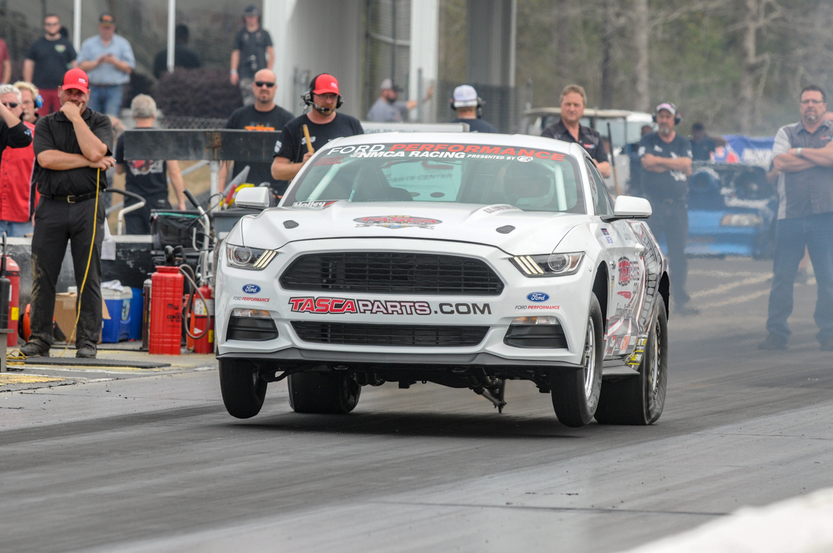 Carl Tasca's Cobra Jet. TascaParts.com has been named the official OEM replacement parts supplier of  NMCA Muscle Car Nationals