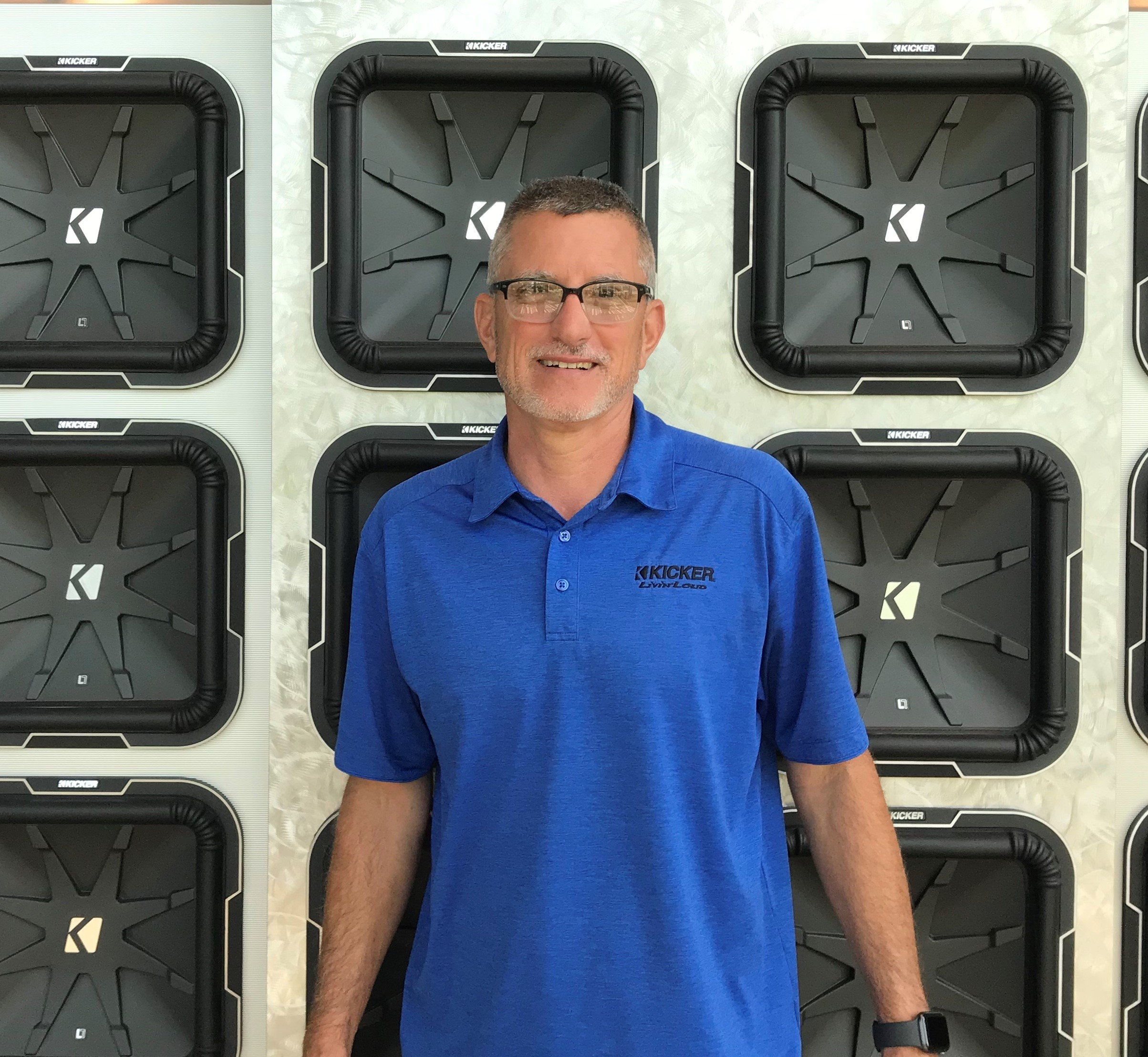 David GlasgowStillwater Designs, manufacturer of KICKER audio products, promoted David Glasgow to international sales manager
