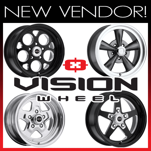 Motor State Distributing now offers products by Vision Wheel.