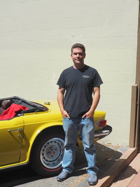 Troy Budde, sales manager of GMP Cars.