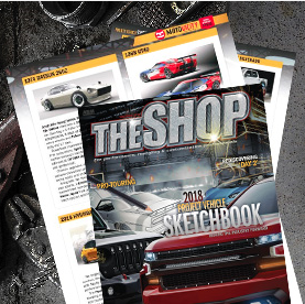 Submit your new build to THE SHOP's annual Sketchbook
