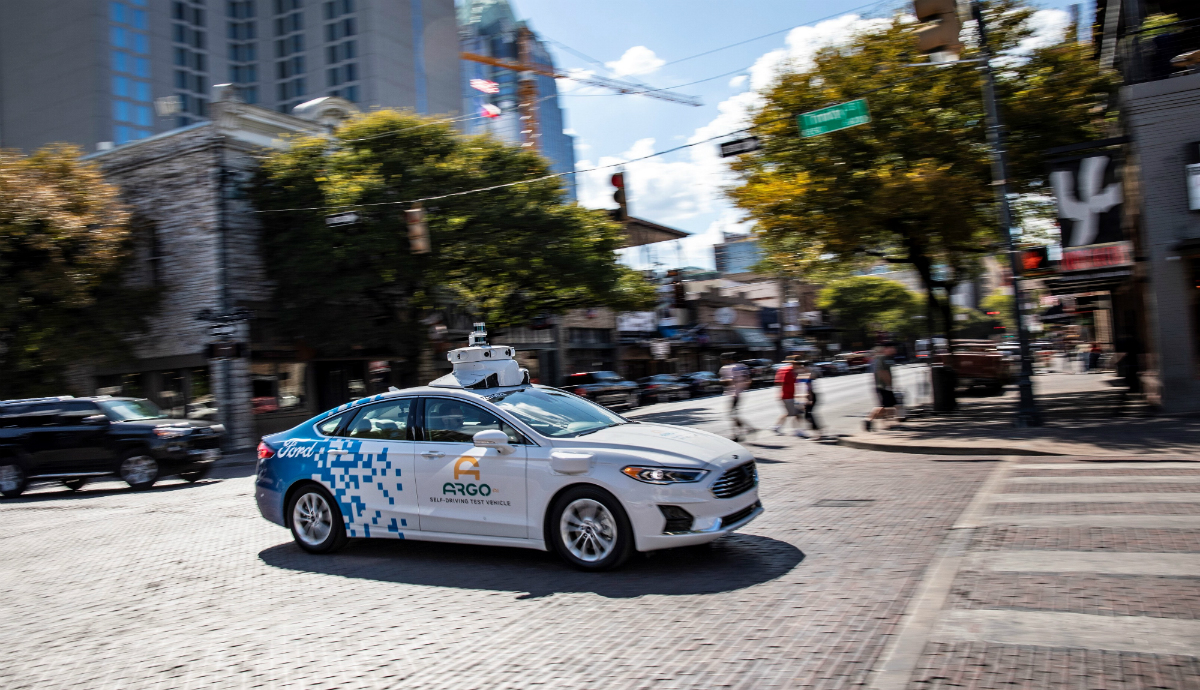 ford self driving