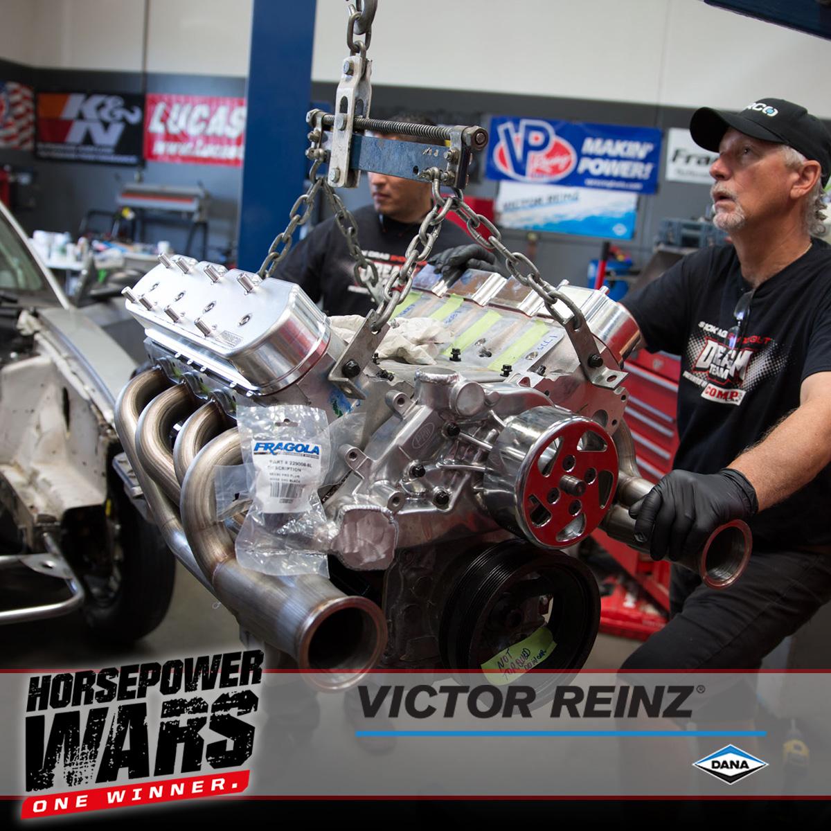 hp wars victor reinz